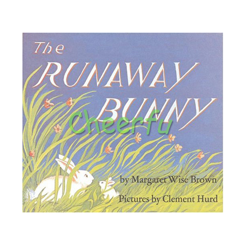 The Runaway Bunny English Picture Book Card Book For Children Reading Kids Daily Montessori Stories Book By Margaret Wise BrownThe Runaway Bunny English Picture Book Card Book For Children Reading Kids Daily Montessori Stories Book By Margaret Wise Brown
