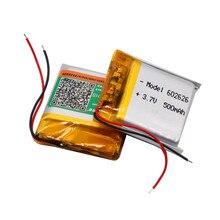 500mAH 602525 602626 PLIB полимерный литий-ионный/литий-ионный аккумулятор для смарт-часов gps