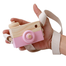 Mini Wooden Camera for Toddlers & Kids – Natural Educational Toy