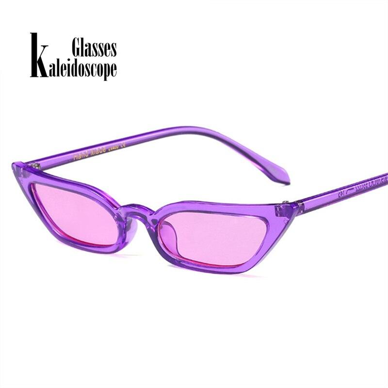 Kaleidoscope Glasses Women Retro Cat's Eye Sunglasses