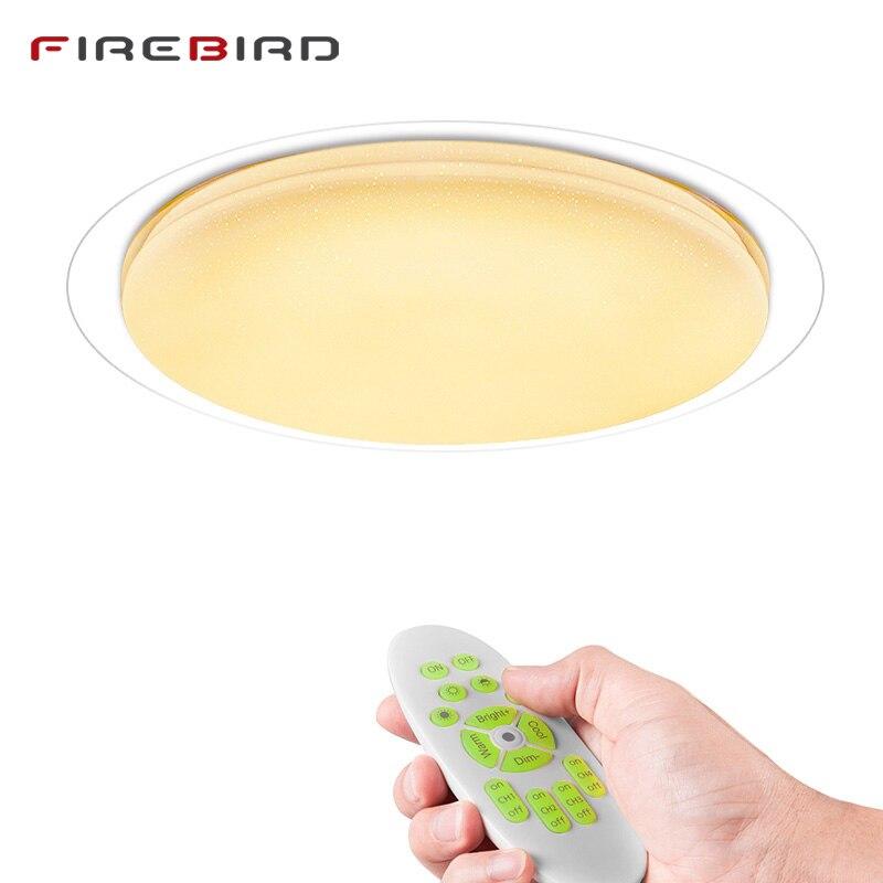 ⑦Moderne LED Plafonniers Dimmable Télécommande 25 w 400mm