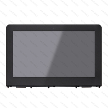 11.6 LCD Touch Screen Glass Assembly with Bezel For HP X360 11-AB 11-AB011DX 11-ab005nf  11-ab001na 11-ab000na 906791-001