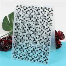 Flowers Plastic Template Embossing Folder For Scrapbooking Photo Album Paper Craft Card Making Decoration недорго, оригинальная цена