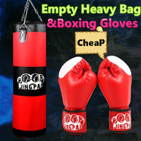 Cheap Canvas Heavy Bag Boxing Glove Sand Bag Child Adult MMA KickBoxing Punching Bag Grappling Fighting