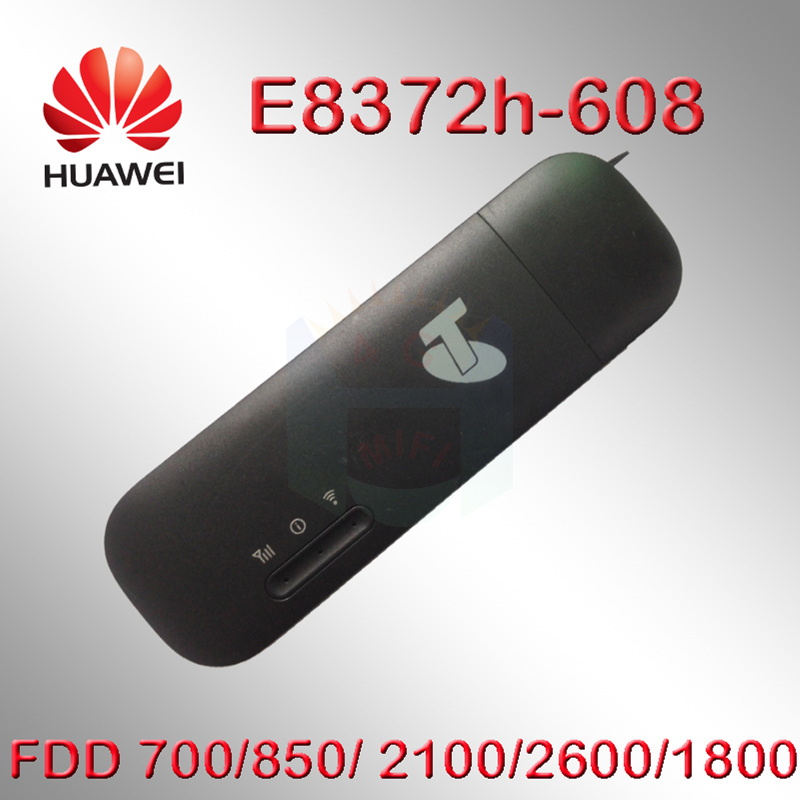 US $40 88 27% OFF|Unlocked Huawei E8372 E8372h 608 4G LTE 150Mbps USB WiFi  Modem with the firmware 21 180 07 00 00 change IMEI-in Modems from Computer