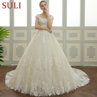 SL 106 New Country Western Lace Bridal Dresses Plus Size Wedding Dress 2017