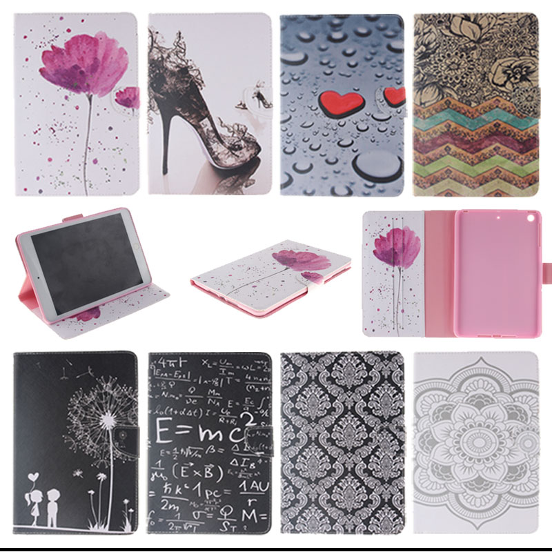 Fashion style Stand Magnetic Tablet PU Leather Case Cover For Apple iPad air iPad 5 With Card Slots Tablet Accessories Y4D33D glossy leather wallet stand cover with 5 card slots for iphone 7 4 7 white