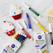 Wilton Food Writer Edible Color Markers 5 color fondant biscuit hook line drawing food pen bakery accessories