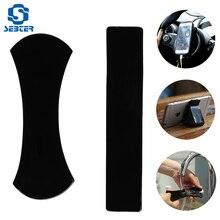 Автомобильная Нескользящая подушка автомобильный Автомобильный ЖК-дисплей солнцезащитный крем для ленивых для мобильного телефона держатель nano black технология удобно разместить автомобильный коврик