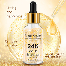 Pretty Cowry 24K Gold Serum Moisture Essence Anti-wrinkle Nicotinamide Liquid Skin Care