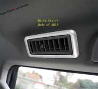 Yimaautotrims Roof Air Conditioning AC Outlet Vent Cover Trim Fit For Toyota Land Curious Prado FJ150 2011 2019 Interior