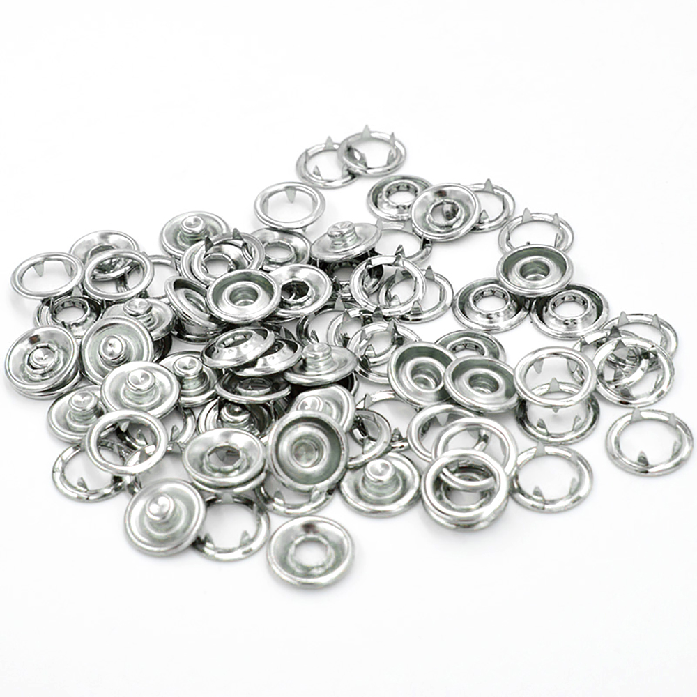 1000sets lot 8 mmProng snaps Non toxic copper material Rivet Eyelet EU environmental buttons Buckle in Buttons from Home Garden