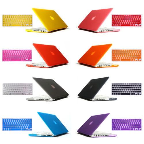2in1 freeship gåva Matt Hard Crystal Glossy Cover Skal + Tangentbord - Laptop-tillbehör