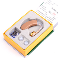 New 2014 Hearing Aid Aids MINI Sound Amplifier Enhancement BTE Light Weight Behind The Ears Care
