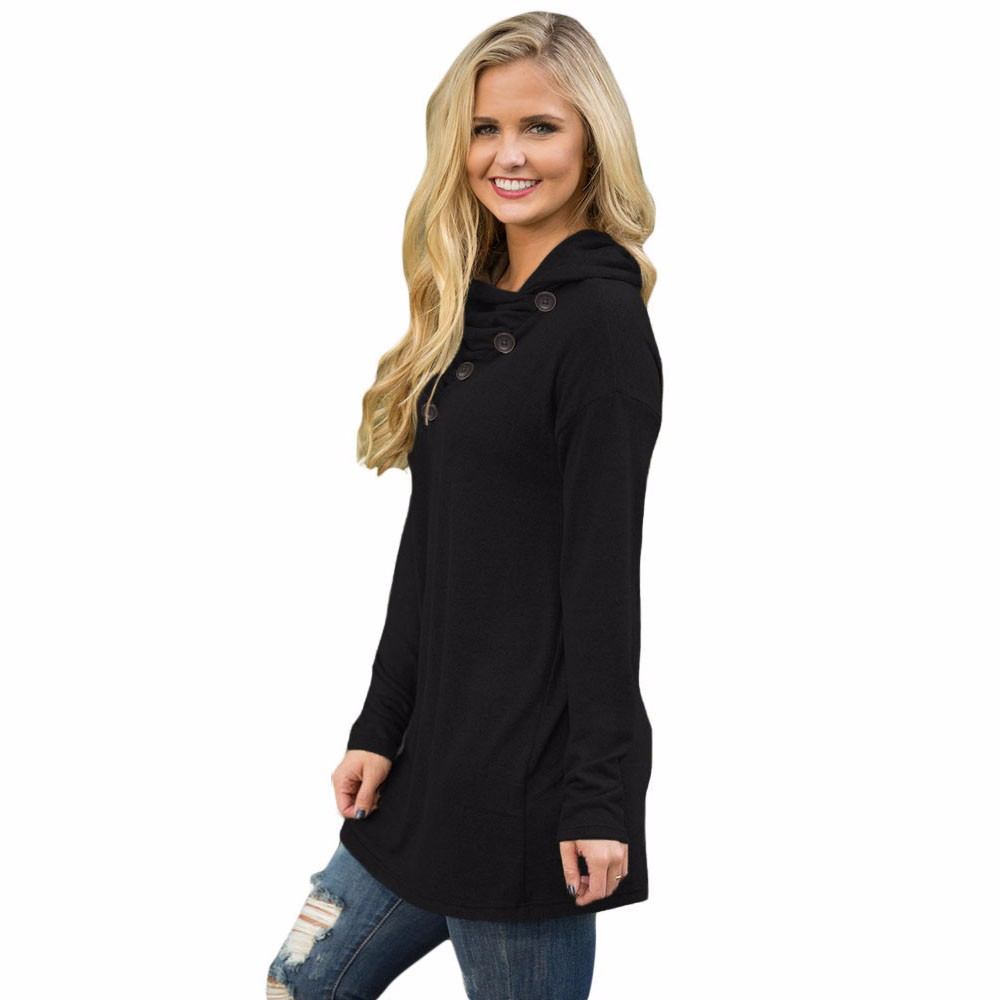 Black-Buttoned-Cowl-Neck-Long-Top-LC25977-2-2