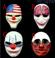 New HOT 1PCS PAYDAY 2 Party Masks Mask Cosplay resin mask Fancy dress party