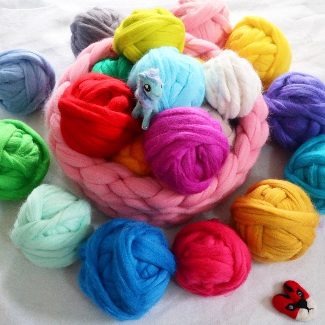 Новый 12 шт 12 цветов 5g шерсть волокна ровинг для Игла DIY валяния ручной спиннинг|Волокно| | АлиЭкспресс