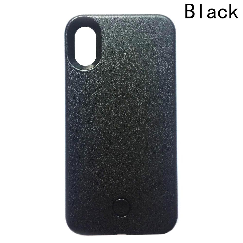 lowest price 8f8e0 3279b Selfie light Phone Case For iphone X Selfie Light Case Up Glowing Phone  Case-in Fitted Cases from Cellphones & Telecommunications on Aliexpress.com    ...