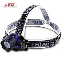 LEO Nacht Angeln Led-Licht Wasserdicht LED Kopf Leuchten Scheinwerfer Taschenlampe für Radfahren Outdoor Wandern Camping