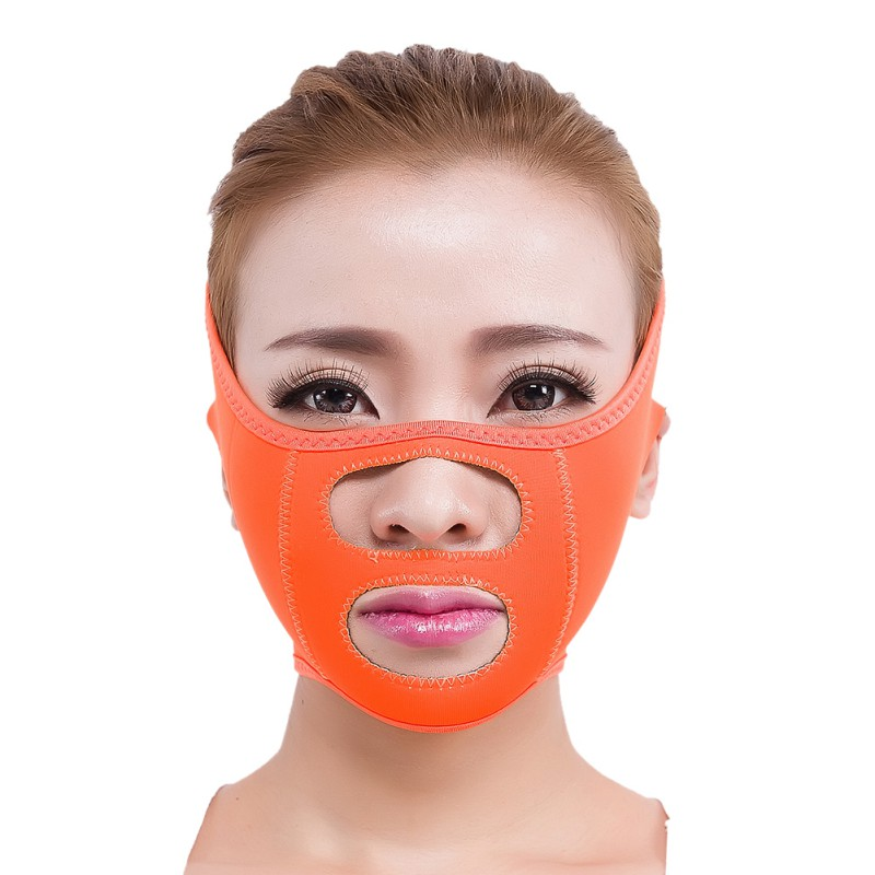 New Thin Face Mask Slimming Bandage Double Chin Face Belt Skin Care Facial font b Weight