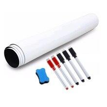 Tablero blanco magnético A3 tamaño 297mm X 420mm imán de nevera seco toallitas de pizarra magnética borradores Bloc de notas inteligente mensaje de la Junta