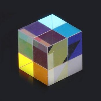 OOTDTY prisma alta potencia láser haz combinado cubo prisma espejo para 405nm ~ 450nm diodo láser azul Drop Shipping