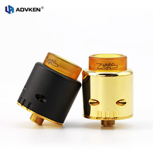 100% Original Ziggs 24mm RDA V2.0 By ADVKEN Electronic Cigarette Rebuildable Atomizer Dripping ZIGGS 24 RDA Tank Atomizer