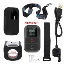 Nuovo Per GoPro hero 8 Impermeabile Telecomando + Custodia protettiva + Remote Titolare Clip di Ponte Per Go Pro hero 5 6 7 8 nero Ses 4 3 + Max
