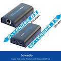 New 120M HDMI Extender Over CAT 5E CAT6 hdmi extender IR  For HD 1080P DVD HDMI Extender 120M over TCP/IP  1 PC Transmitter