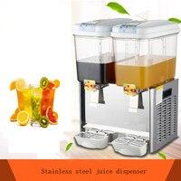 SHIPULE 2 cilindros máquina de bebidas frías y calientes dispensador de jugo dispensador de leche café máquina dispensadora de jugo|Procesadores de alimentos| |  -