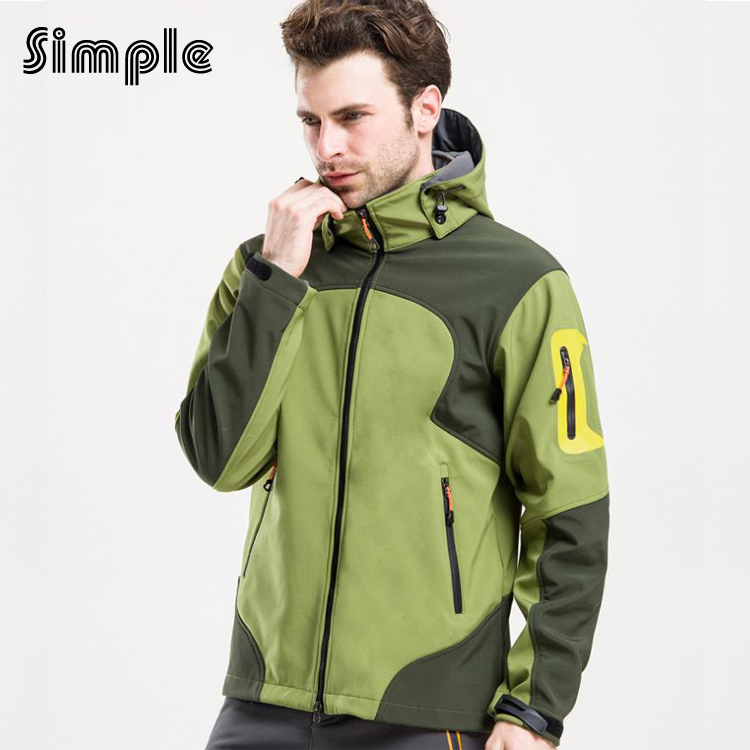 ФОТО High Quality Men outdoor jacket Clothes Waterproof Windproof Hiking Camping ski Fishing Softshell Jackets chaqueta impermeable