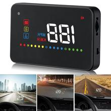 A200 hud car universal head up display speedometer obd2 temperature water Projection on the windshield for dropshipping