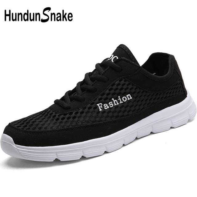 6364f15005b8 Hundunsnake Large Size Man Sneakers Breathable Mens Sports Shoe Lightweight  Running Shoes Men Black Women s Sport Shoes Men T253