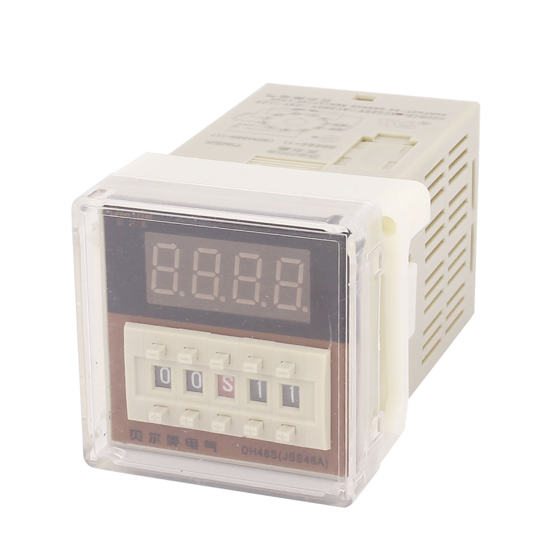Dh48j-8 Ac220v 11 Pins Lcd Digital Timer Time Counter Delay Relay 0.01S - 99H99m