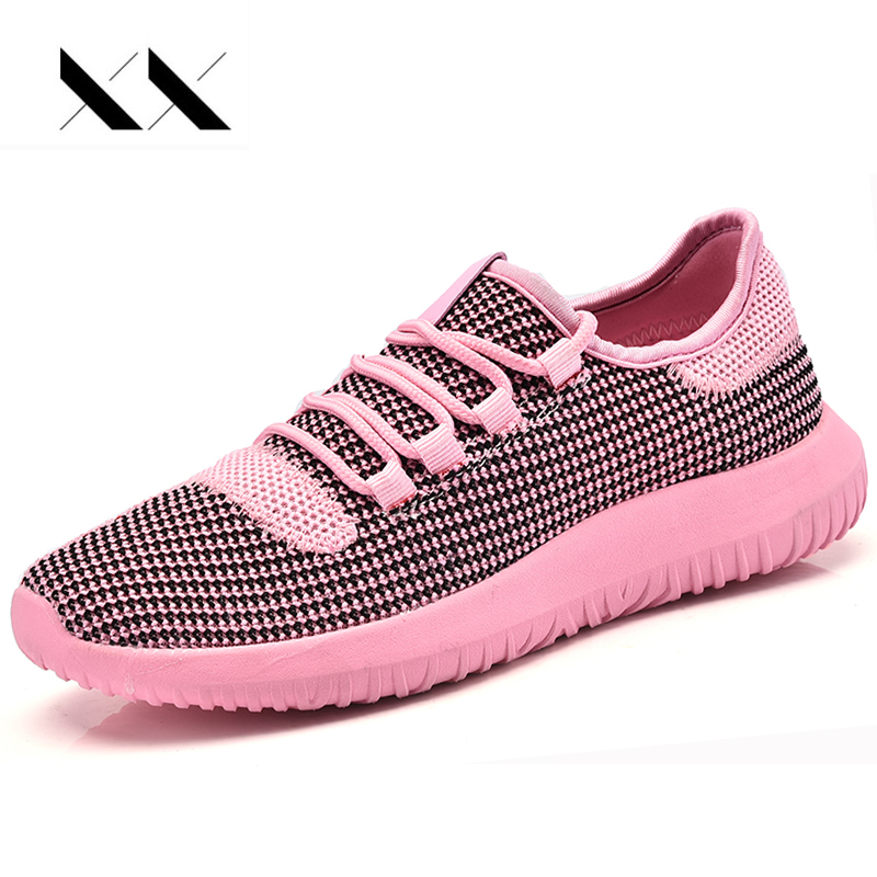 XX Women Flat Shoes Lace Up Air Mesh Breathable Lazy Shoes Network Casual Fashion Loafers Lightweight Comfortable Ladies Leisure men casual shoes lace up mesh men outdoor comfortable shoes patchwork flat with breathable mountain shoes 259