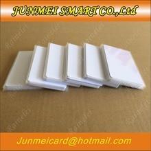 קניות חינם 50 יחידות/100 יחידות 13.56 mhz בלוק 0 מגזר לצריבה חוזרת RFID IC S50 UID להחלפת כרטיס תג לבן ריק כרטיס ISO14443A