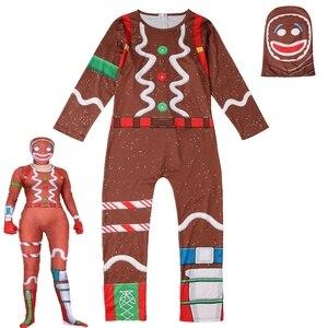 Image 5 - Bambini Ragazzi Del Cranio Trooper Raven Cosplay Tuta di Halloween Del Partito Del Costume Battle Royal di Carnevale Purim Vestiti Set 4 18 Y