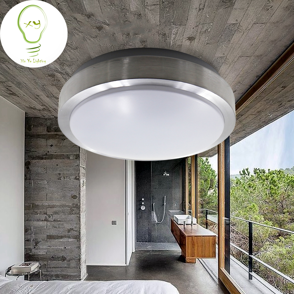 Modern Brief Singlelayer Aluminium Dome Ceiling Light For Bedroom Living  Room Kitchen Balcony Aisle Lights 350mm 200mm 12W 16W In Ceiling Lights  From Lights ...