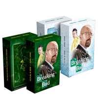 Heißer Amerika TV show Breaking bad poker karte set papier spielkarten deck geprägte oberfläche Mr Weiß neuheit präsentieren