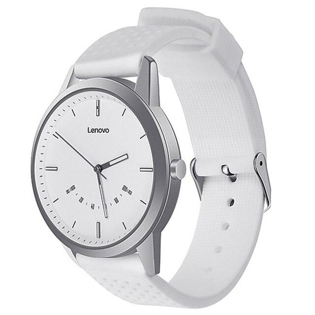 Reloj inteligente Original Lenovo 9 reloj inteligente 5ATM alineación inteligente resistente al agua movimiento de tiempo calibrador de pasos llamadas de teléfono recordatorios
