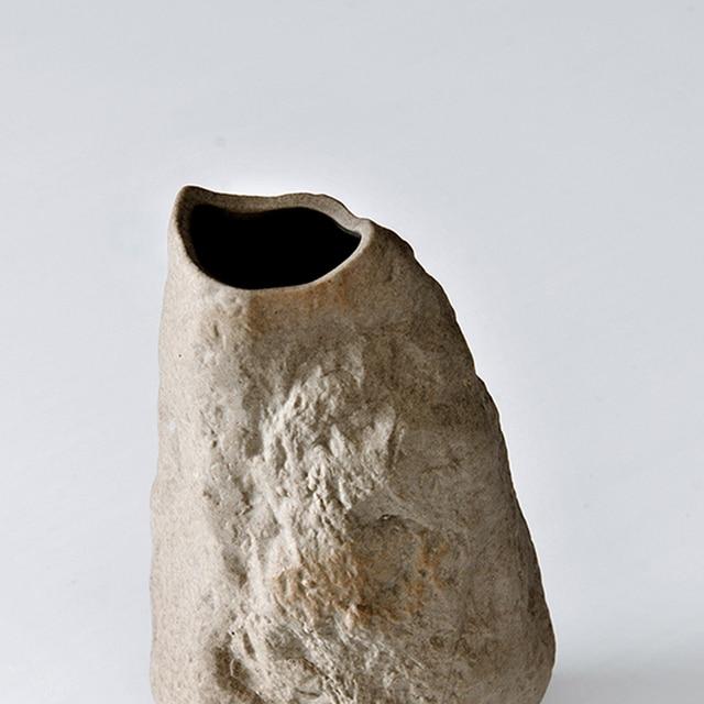 New ceramic modern Vase home decor fashion floral organ master bedroom creative ceramic  stone vase ornaments wedding gift 4