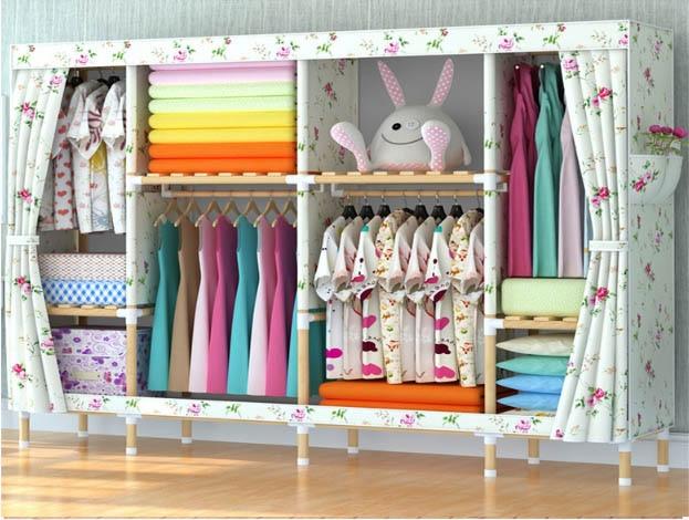 latest wooden wardrobe   length 205cmlatest wooden wardrobe   length 205cm