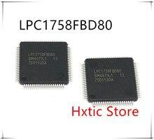 10pcs/lot LPC1758FBD80 LPC1758 LQFP80