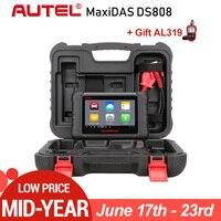 Autel MaxiDAS DS808 OBD2 Сканер же как MS906 лучше, чем Autel DS708 ЭБУ Инструмент диагностики Многоязычно