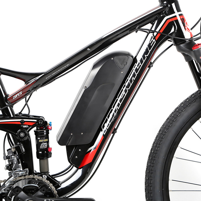 customizable 26inch Electric mountain bike rear shock soft tail 22 gear oil disc brake  li-ion 36V All terrain off road ebike