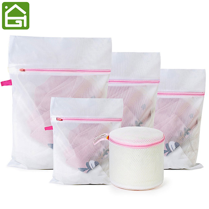 Premium Quality Durable Fine Mesh Washing Bags Household Laundry Basket For Protecting Delicates Clothing