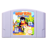 N64Game Diddy Kong Racing Video Game Cartridge Console Card English Language US Version (Can Save)