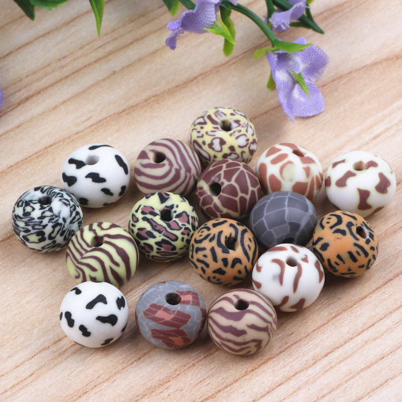 8x12mm Oblate Fimo Polymer Clay Beads Mix Design Diy Jewelry Components Spacer Beads Jewellery Making 200pcs/lot