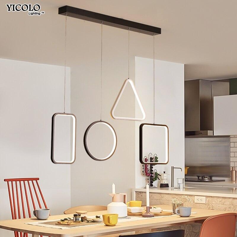 Kreative Anhänger Lichter Led Moderne Für Esszimmer Suspension Hängen Decke  Lampe Hause Beleuchtung Für Küche AC85 260V Leuchten