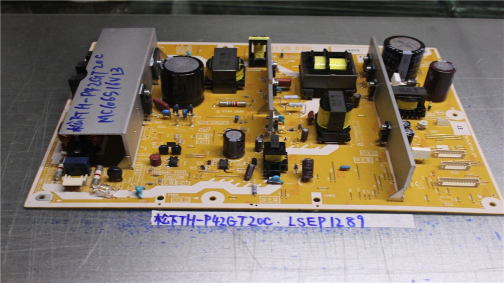 TH-P42GT20C Power supply ASSY.NO.LSEP1289 ST/LSJB1289-21 is used th p50x20c power supply pcpf0257 mpf6904 is used